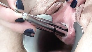 PeeHole Fucking with 4 Sounds Insertion Urethra and pee