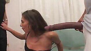 a massive monster cock threesome for the slutty naomi