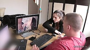 Dad And Daughter Watch Porn Together