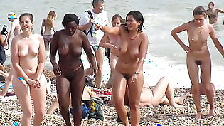 Wow - check out these ladies on this nude beach