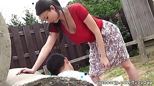 Emiko Ejima naughty mature Asian babe is dominating chick