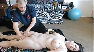 Oily Massage And Anal Sex