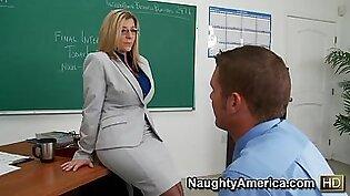 Sara Jay & Chris Johnson in My First Sex Teacher