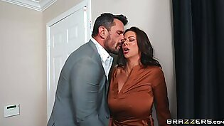 Cheating wife Alexis Fawx moans during sex with her horny lover