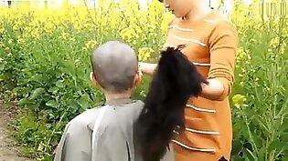 Chinese Girl Headshave