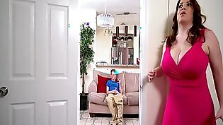 MILF Maggie Green Confronts Pervert Step Son