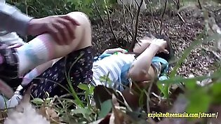 Jav Idol Camping With Friends Is Ambushed Fingered Fucked Outdoors By Old Guy She Gets Creampie