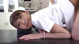 Incredible Japanese model Yuki Aoi, Akari Asakiri, Nachi Sakaki in Amazing Nurse, Fingering JAV scene