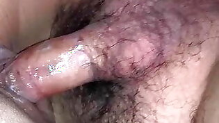 Wet wife's pussy